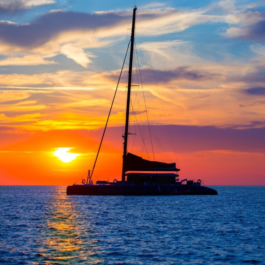 Taking A Sunset Boat Tour In Accordance With Your Will